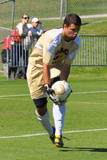 Dan Louisignau played a pair of NCAA Tournament games with Viriginia in 2007.