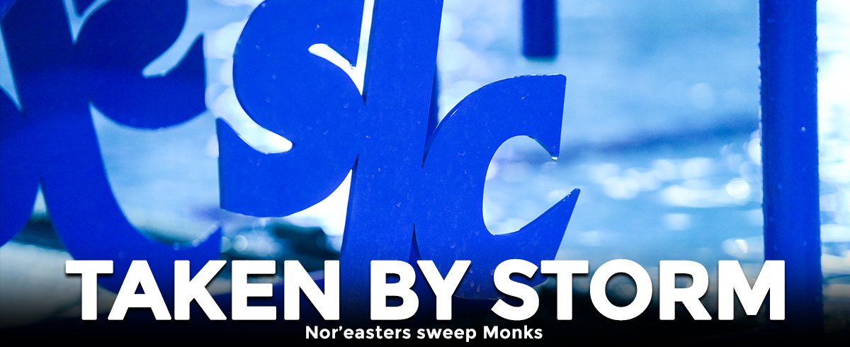 Nor'easters Sweep Monks in the Pool