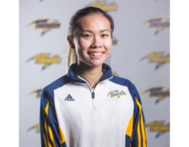 Takeisha Wang Honoured as 2017-18 ACAC  Women's Badminton Player of the Year
