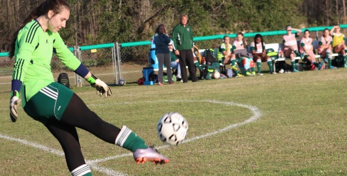 Lady Gator Soccer Team Wins Big Region Match on the Road
