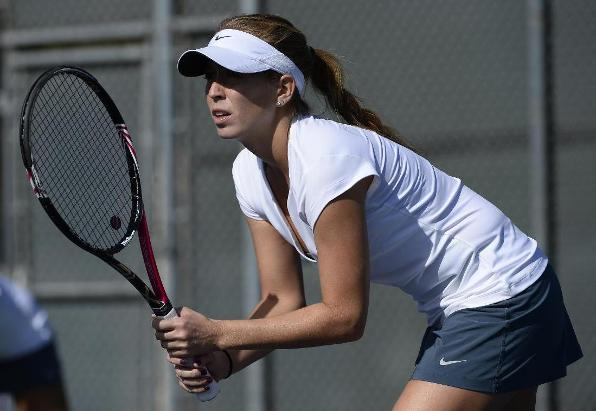 Doubles Point Eludes Fullerton in Loss