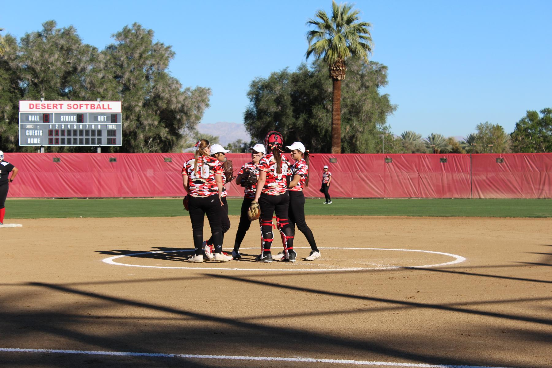Softball Drops Home Contest to Santa Ana 10-0