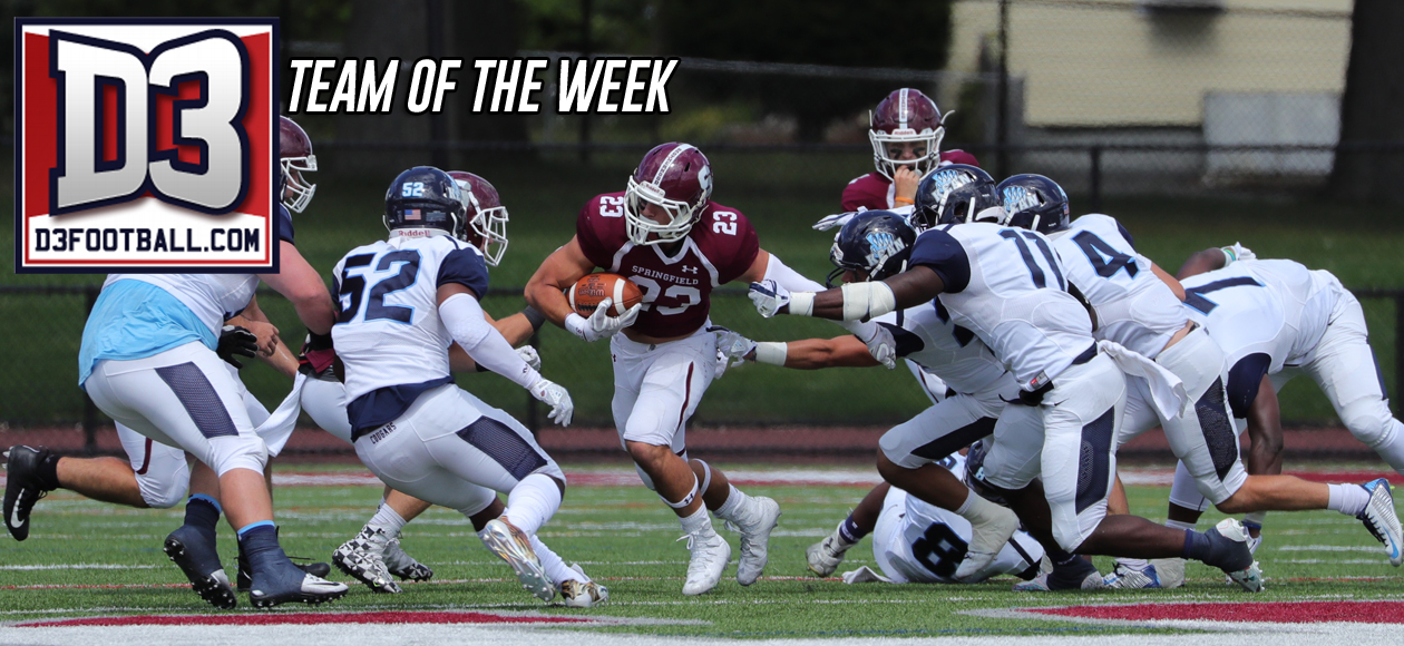 Wilcox Named to D3football.com National Team of the Week