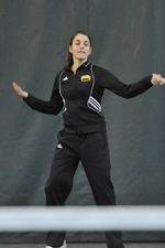 Tennis Standout Kim Berghaus Earns ITA National and Regional Rankings