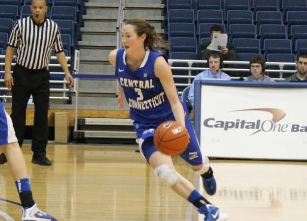 Women's Hoops Falls Short at Hofstra