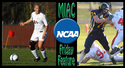 Friday Feature: MIAC student-athletes take advantage of whole student-athlete experience, receive NCAA award