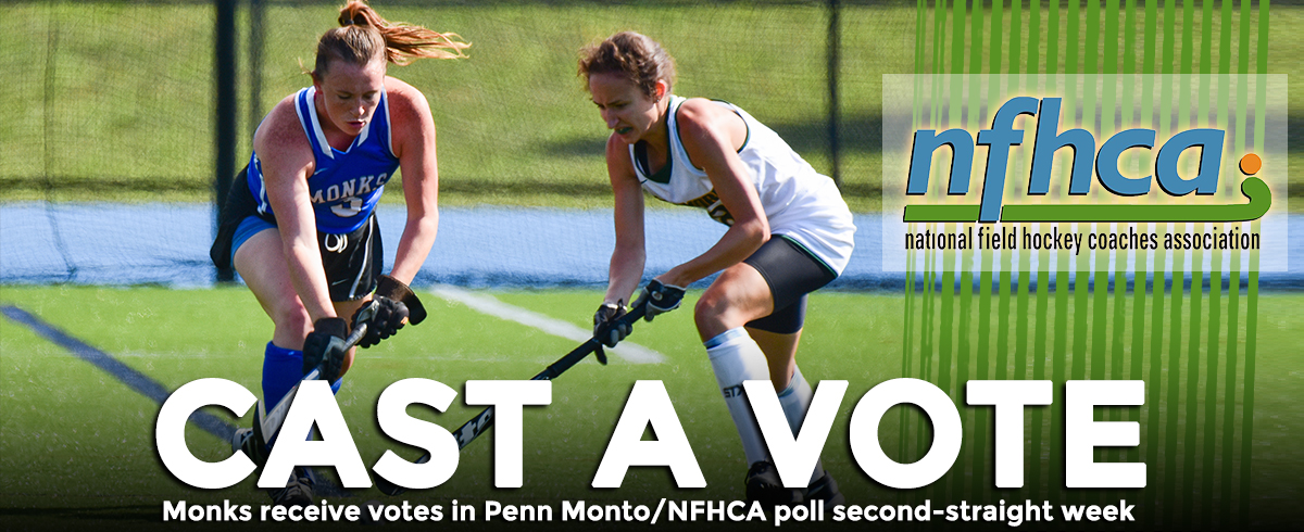 Monks Receive Votes in Penn Monto/NFHCA DIII National Poll for Second-Consecutive Week