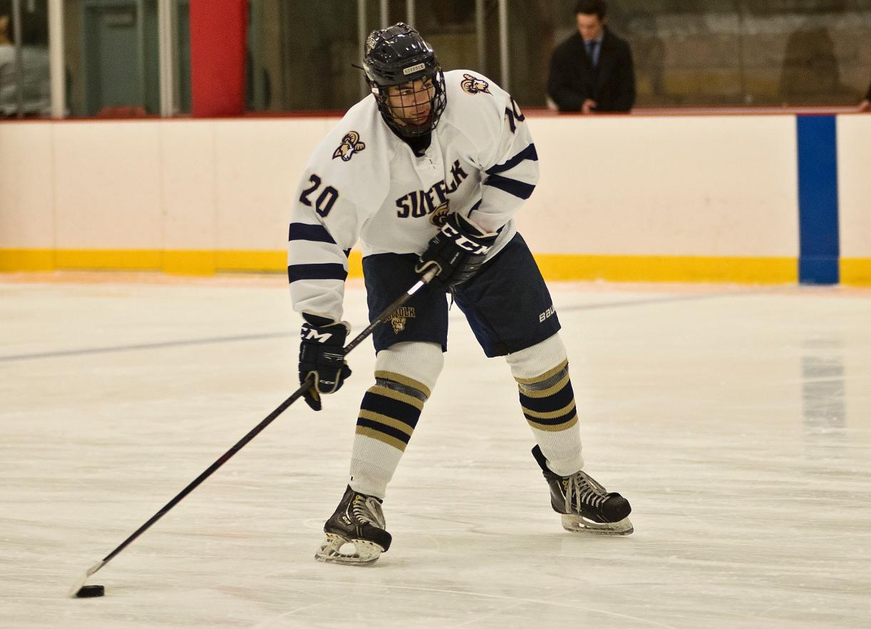 Men's Hockey's Comeback Ends in 4-4 Tie at Salem State