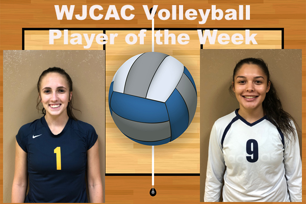 WJCAC Volleyball Players of the Week (Sept. 3)