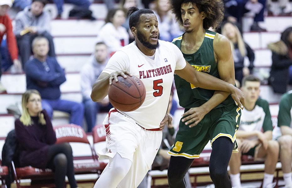 Plattsburgh's Patron selected as SUNYAC Men's Basketball Athlete of the Week