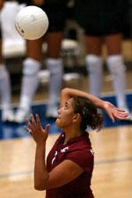 Volleyball Cruises Past Rhode Island