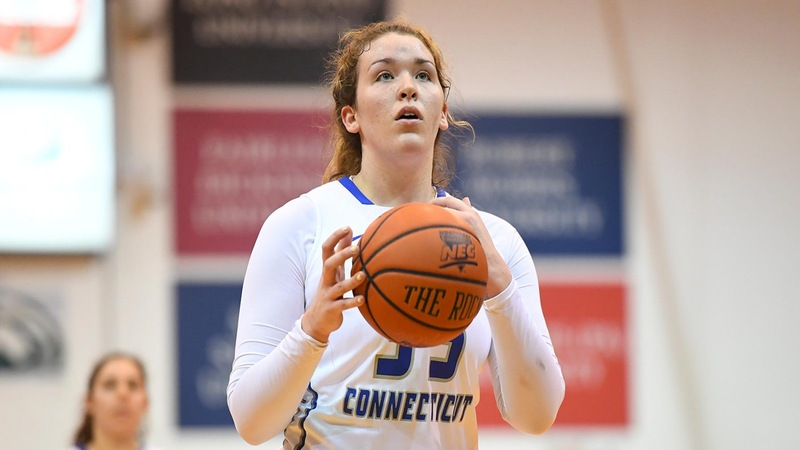 Berube Records Double-Double, Blue Devils Fall to Sacred Heart Saturday