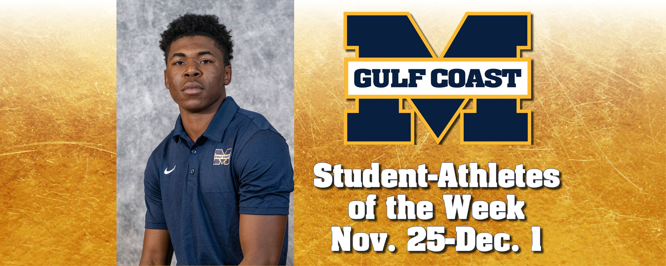 Harrison named MGCCC Student-Athlete of the Week