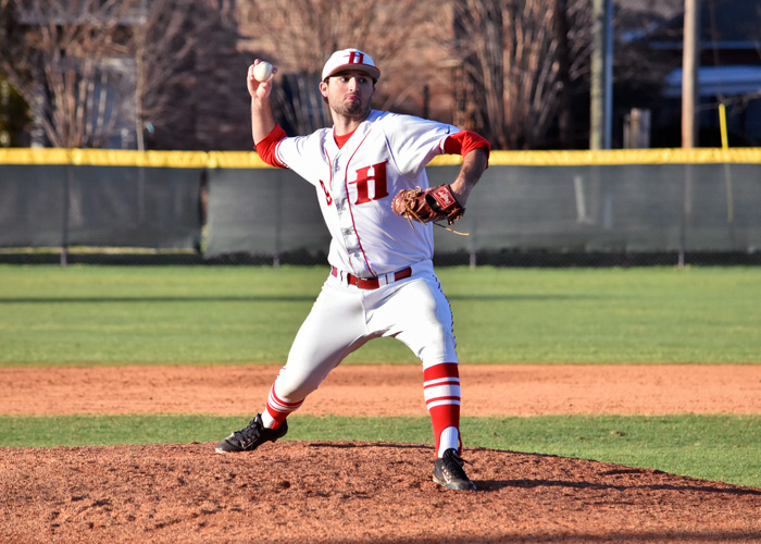 Junior Zach McGrady pitched a complete game to earn the win in Thursday's 4-2 win over LaGrange in the first round of the USA South Athletic Conference Tournament.