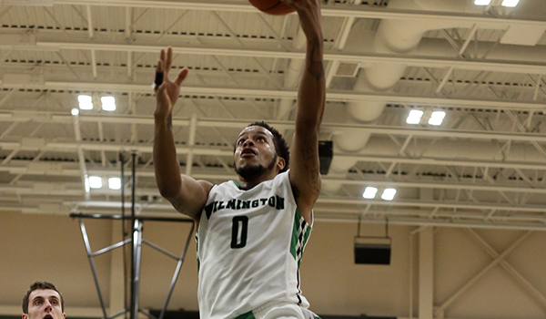 Wilmington Men's Basketball Falls in Seesaw Battle, 76-66, at Bloomfield