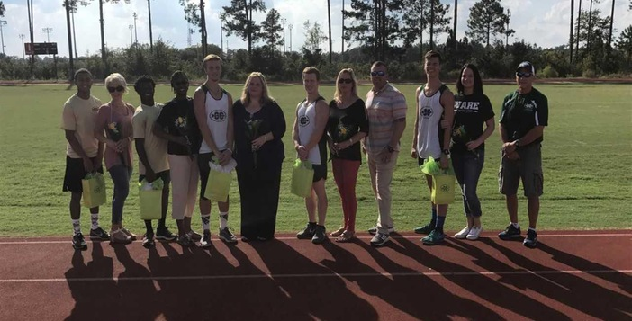 Ware Cross Country Team Capture First Place on Senior Night
