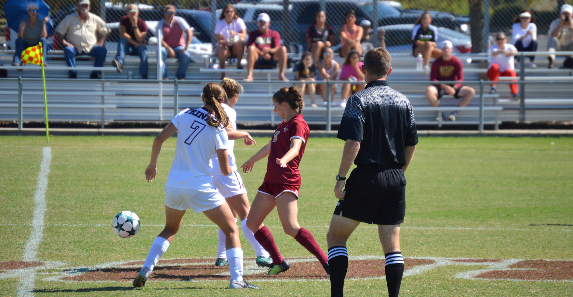 High-Powered Trinity Too Much for 'Roo Women's Soccer