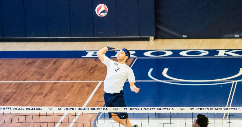 Men's Volleyball Drops Pair to York and Southern Virginia