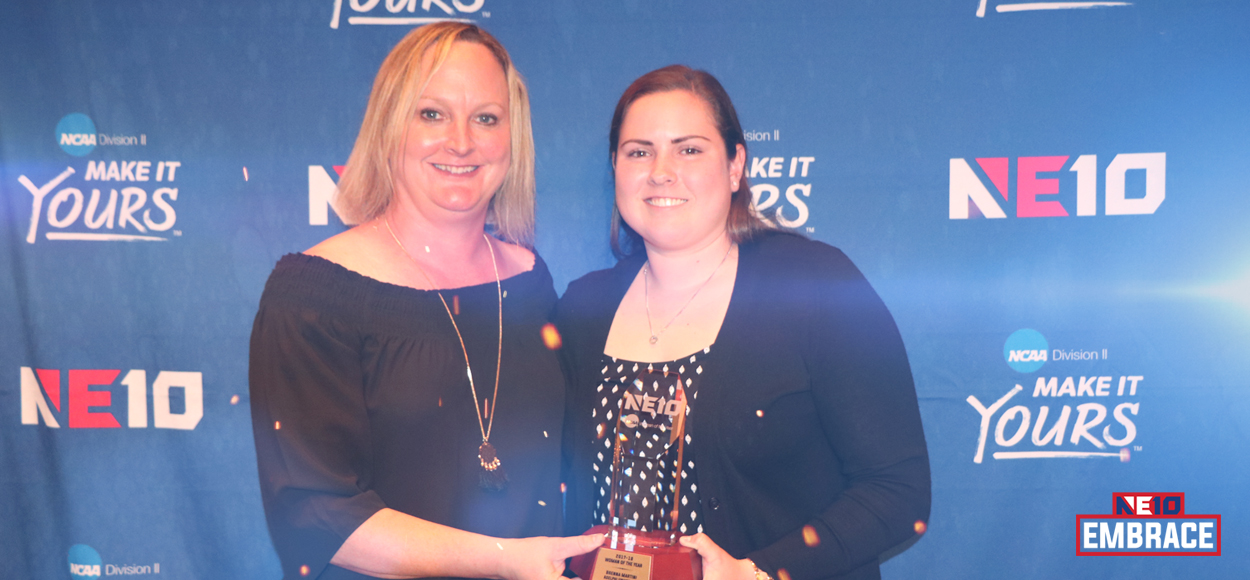 Embrace The Philosophy: Adelphi's Brenna Martini Named NE10 Woman of the Year