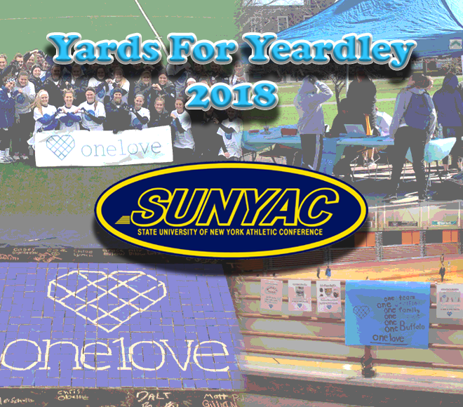 SUNYAC participates in Yards for Yeardley