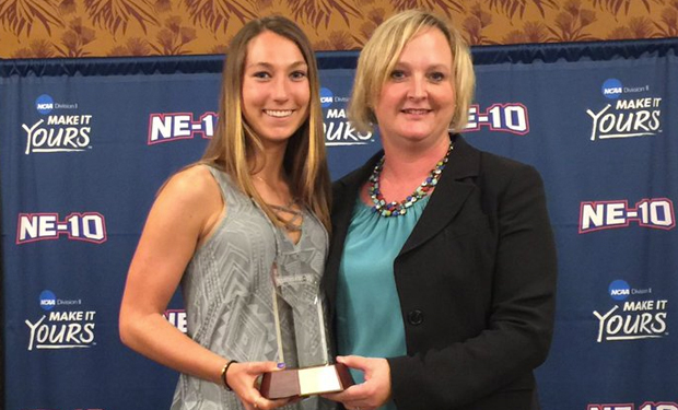 Adelphi's Taylor Groth Collects NE-10 Female Scholar-Athlete of the Year Award