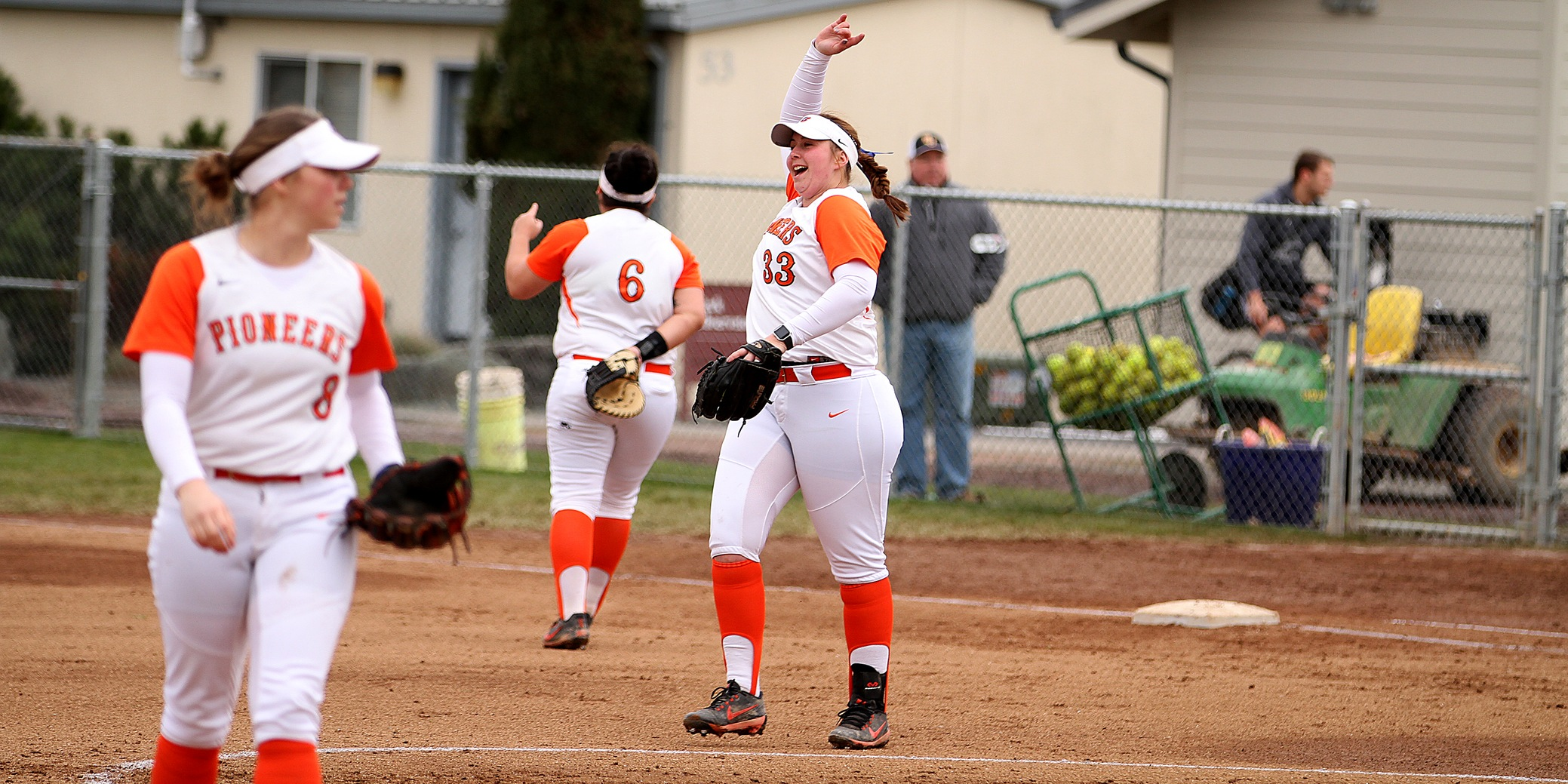 Following a five-inning win in opener, Pios settle for series split at Willamette
