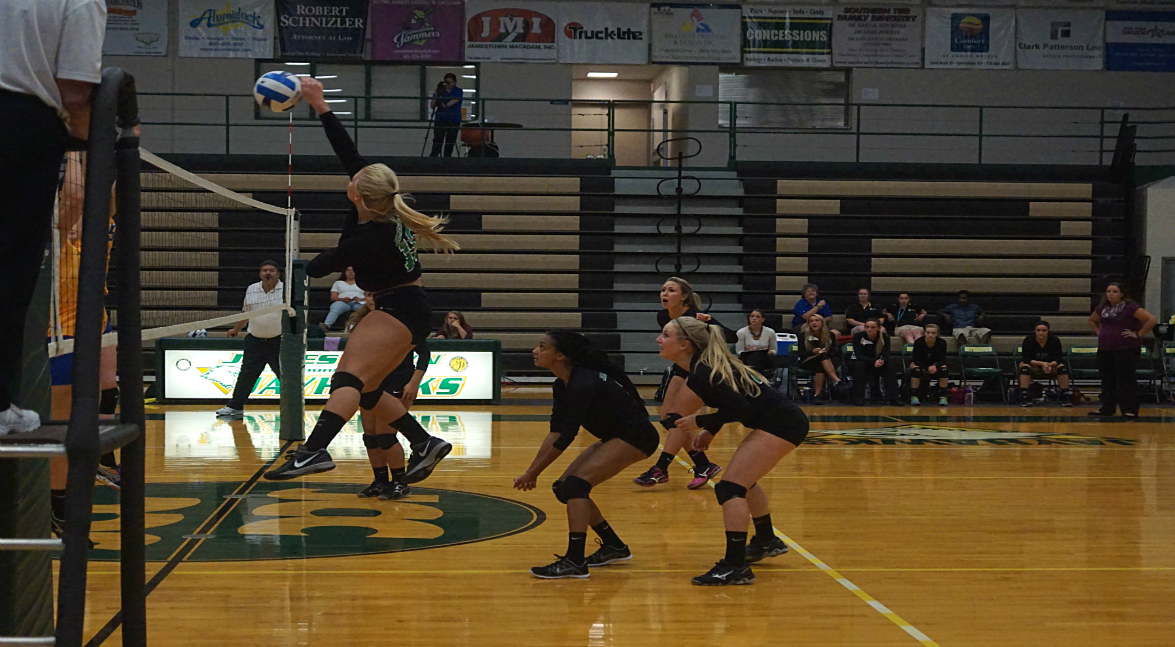 women's volleyball vs NCCC (POD)