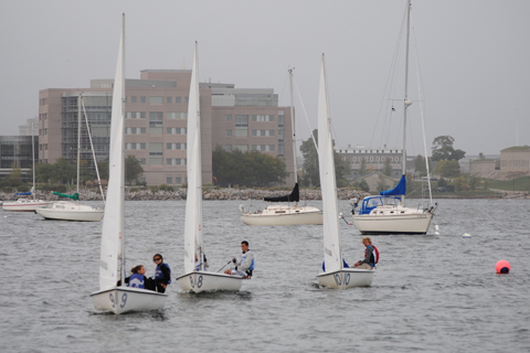 Sailing Withdraws from New England Dinghy Tournament