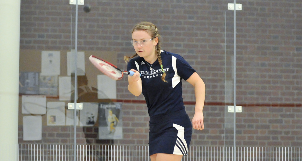#31 Squash Shoulders Tough Loss to #18 Amherst