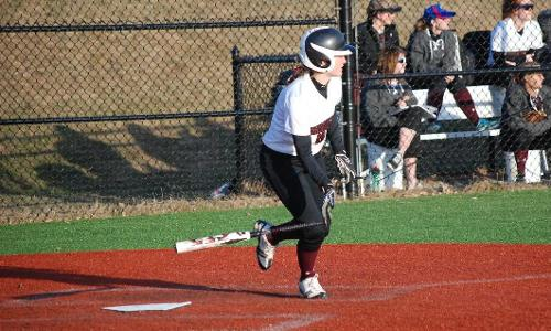 Softball Splits Doubleheader with UMPI; Fowler Nearly Pitches a No-No