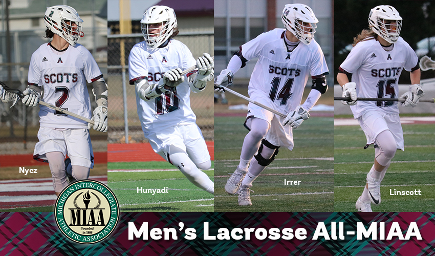 Men's lacrosse lands four players on All-MIAA Team