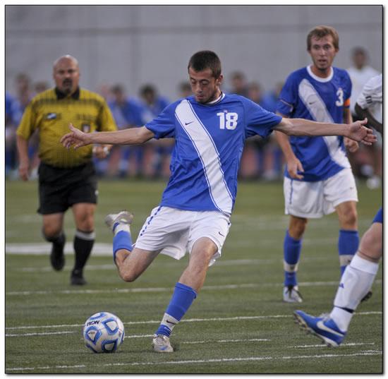 Mount men's soccer suffers 1-0 home loss in season-ending game versus Earlham College