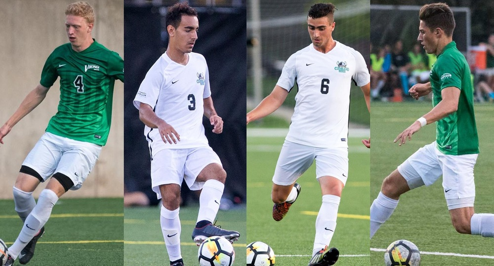 Four Vikings Claim HL Postseason Honors