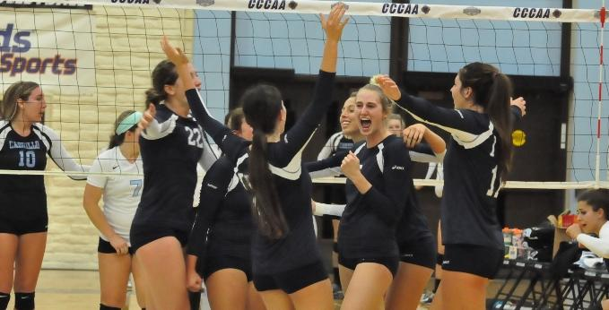 Women's volleyball team in state final after sweeping Cabrillo