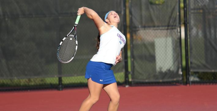 Women's Tennis win NACC regular season title