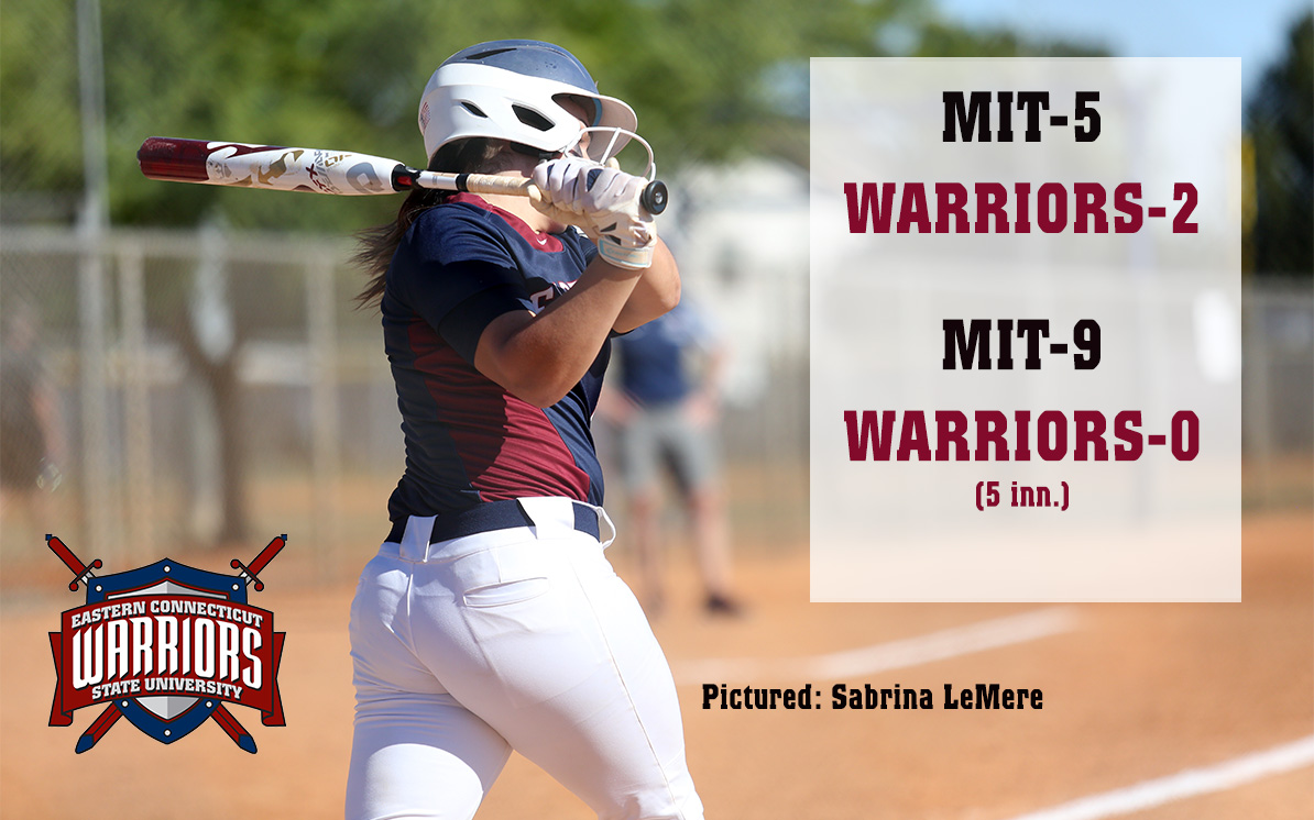 Softball: Against MIT, Warriors Can't Close It Out in Opener, are Routed in Game 2