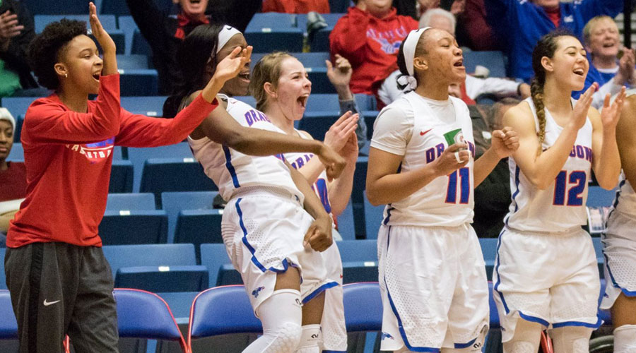 The Blue Dragon Women's Basketball Team takes on Garden City at 5:30 p.m. on Wednesday at the Sports Arena. (Allie Schweizer/Blue Dragon Sports Information)