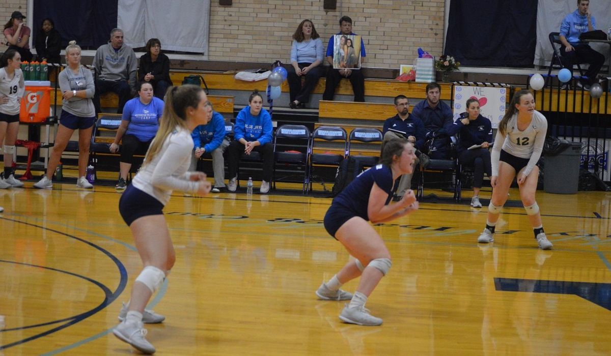 Westminster Volleyball Closes Out Regular Season at Principia