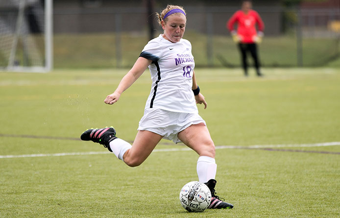 Women's Soccer Suffers 2-0 Loss to Regionally-Ranked Saint Rose