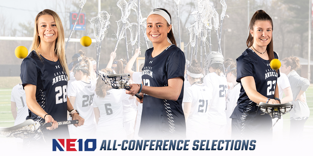 Women's lacrosse lands three on All-Conference teams