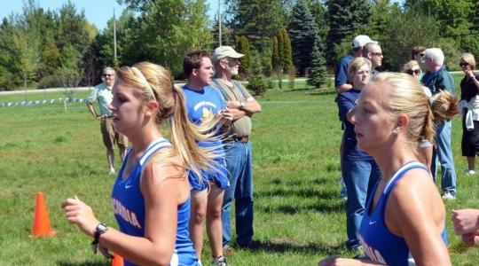 Falcon women third at NAC Cross Country Championships