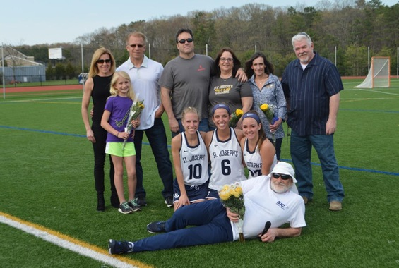 Kreuscher Tallies 7 Goals as Women's Lacrosse Clinches Second Seed on Senior Day