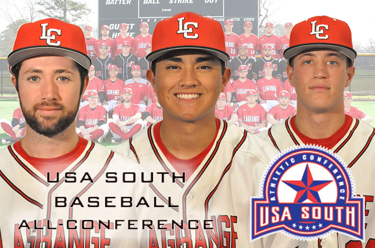 2017-18 in Review: LC places three players on USA South Baseball All-Conference teams
