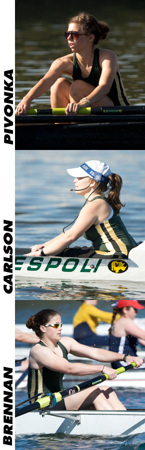 ROWING'S PIVONKA, CARLSON AND BRENNAN FARE WELL AT SUMMER NATIONAL REGATTAS