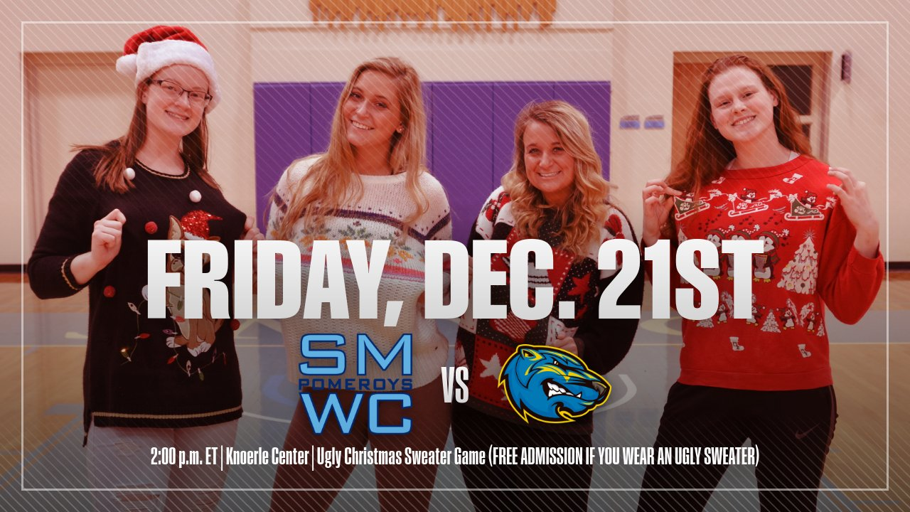 SMWC Basketball To Host Ugly Christmas Sweater Game
