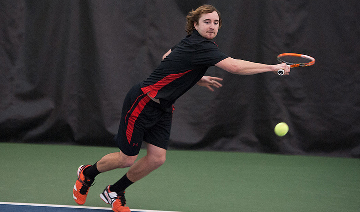 Bulldog Men's Tennis Plays Two Dual Matches In Monday Action In Florida