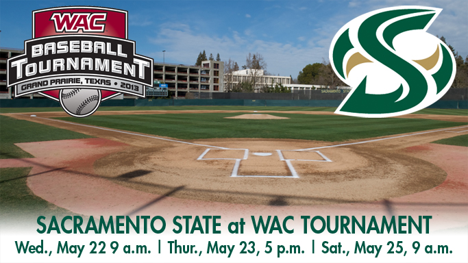 BASEBALL HEADS TO GRAND PRAIRIE FOR WAC TOURNAMENT