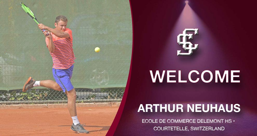 Men's Tennis Signs No. 52 Player From Switzerland