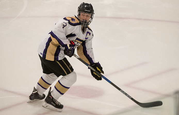 Four Purple Knights Score During 4-1 Triumph Over Post