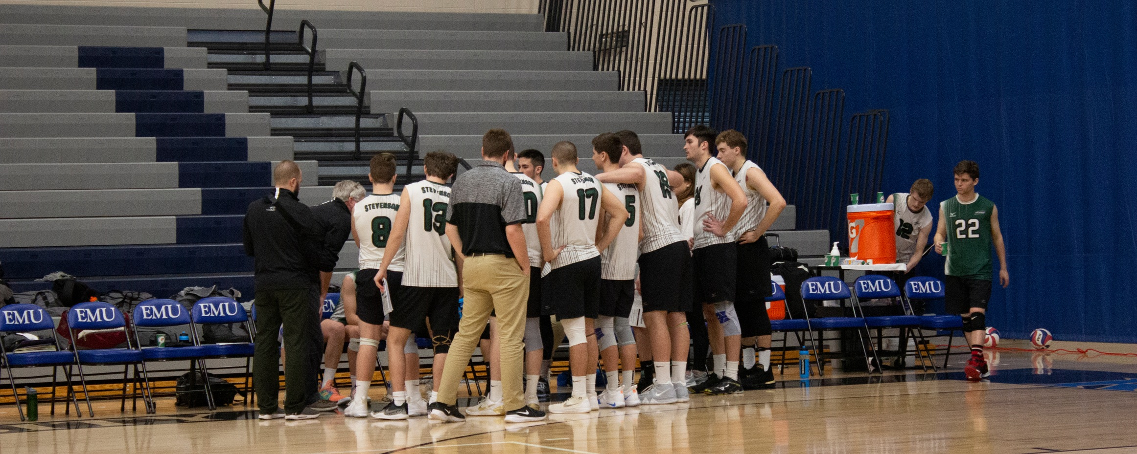 Men's Volleyball Slides Back A Spot To No. 6